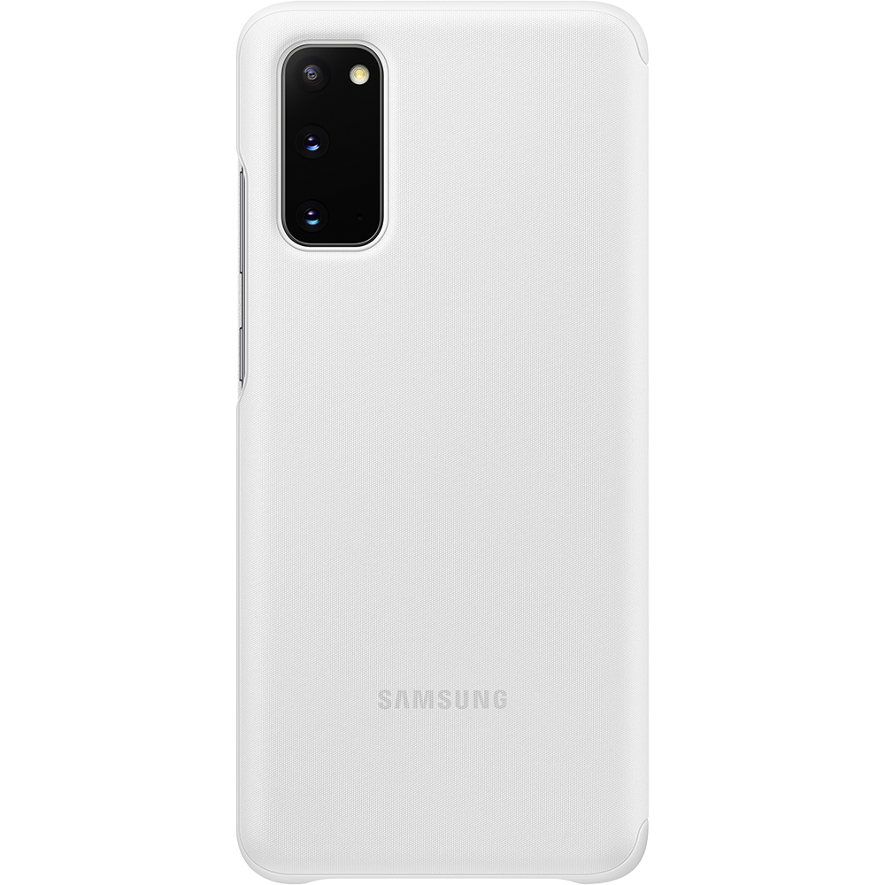 Husa Agenda Clear View Alb SAMSUNG Galaxy S20