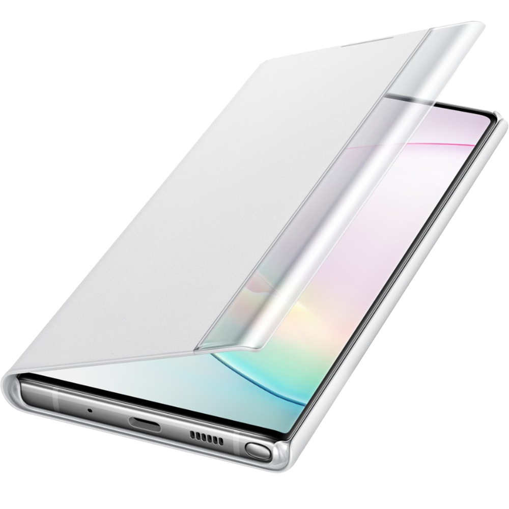 Husa Agenda Clear View Alb SAMSUNG Note 10 Plus