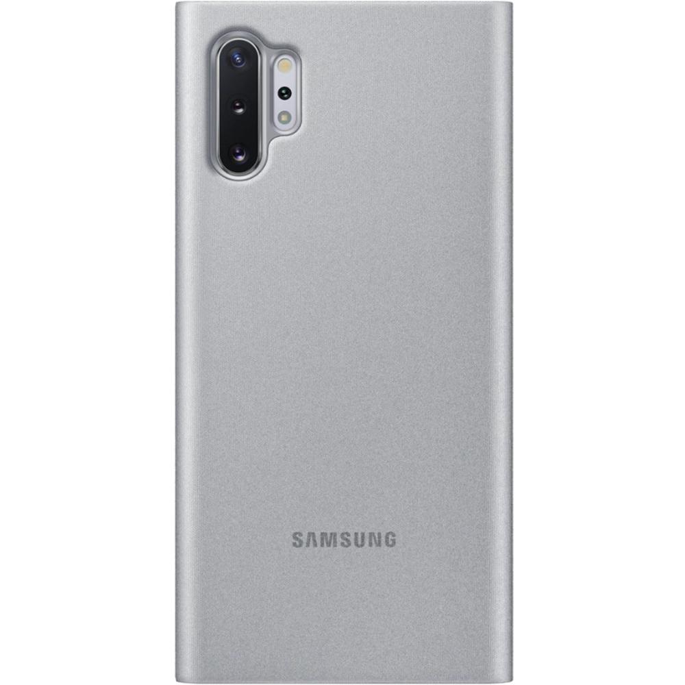Husa Agenda Clear View Argintiu SAMSUNG Note 10 Plus