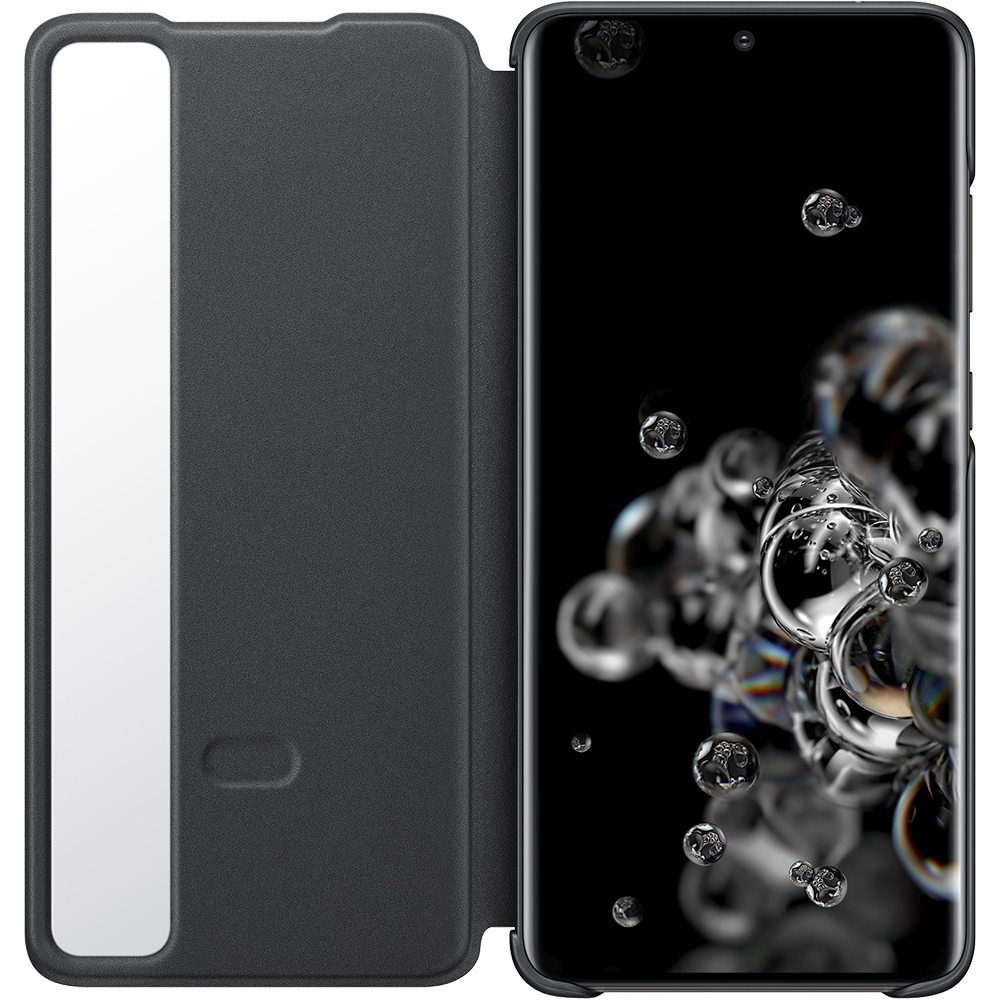 Husa Agenda Clear View Negru SAMSUNG Galaxy S20 Ultra