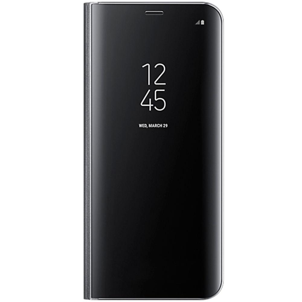 Husa Agenda Clear View Negru SAMSUNG Galaxy S8 Plus