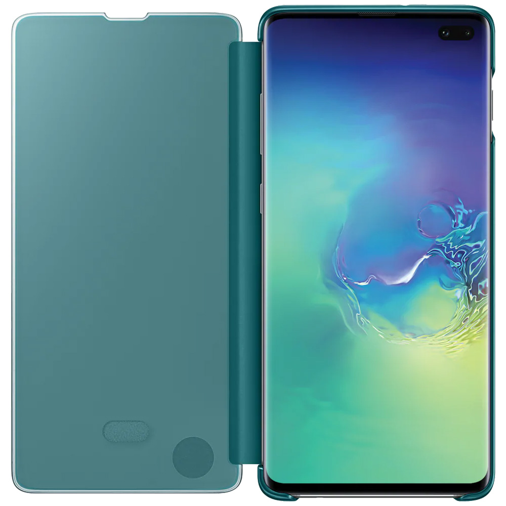Husa Agenda Clear View Verde SAMSUNG Galaxy S10 Plus