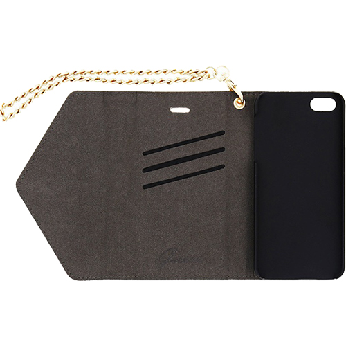 Husa Agenda Clutch Studded Auriu APPLE iPhone 5s, iPhone SE