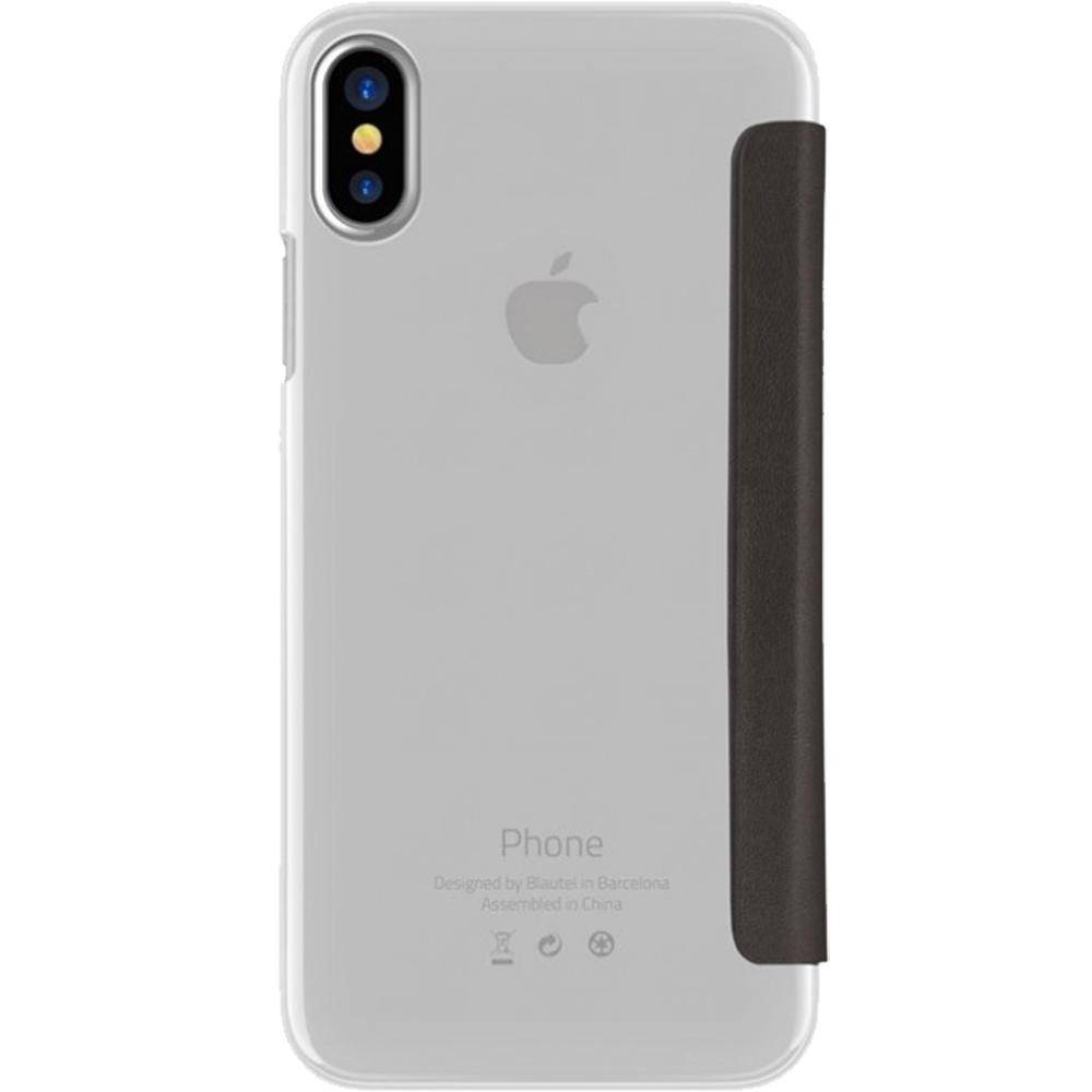 Husa Agenda Crystal Negru APPLE iPhone X, iPhone Xs