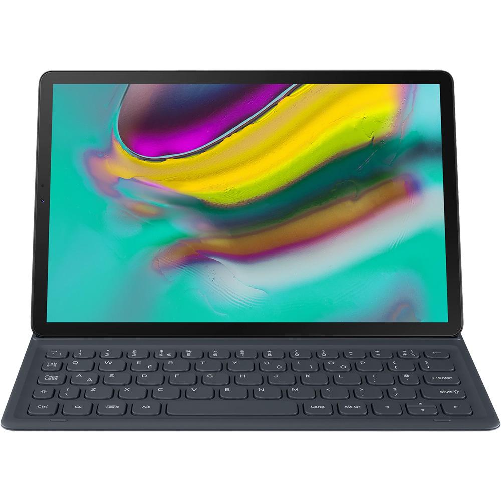 Husa Agenda Cu Tastatura Negru SAMSUNG Galaxy Tab S5e
