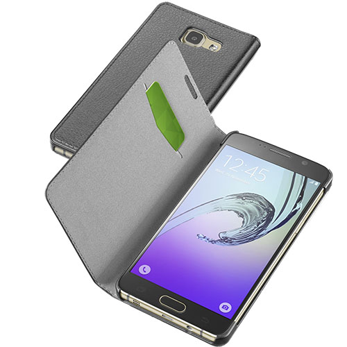 Husa Agenda Essential Negru Samsung Galaxy A7 2016