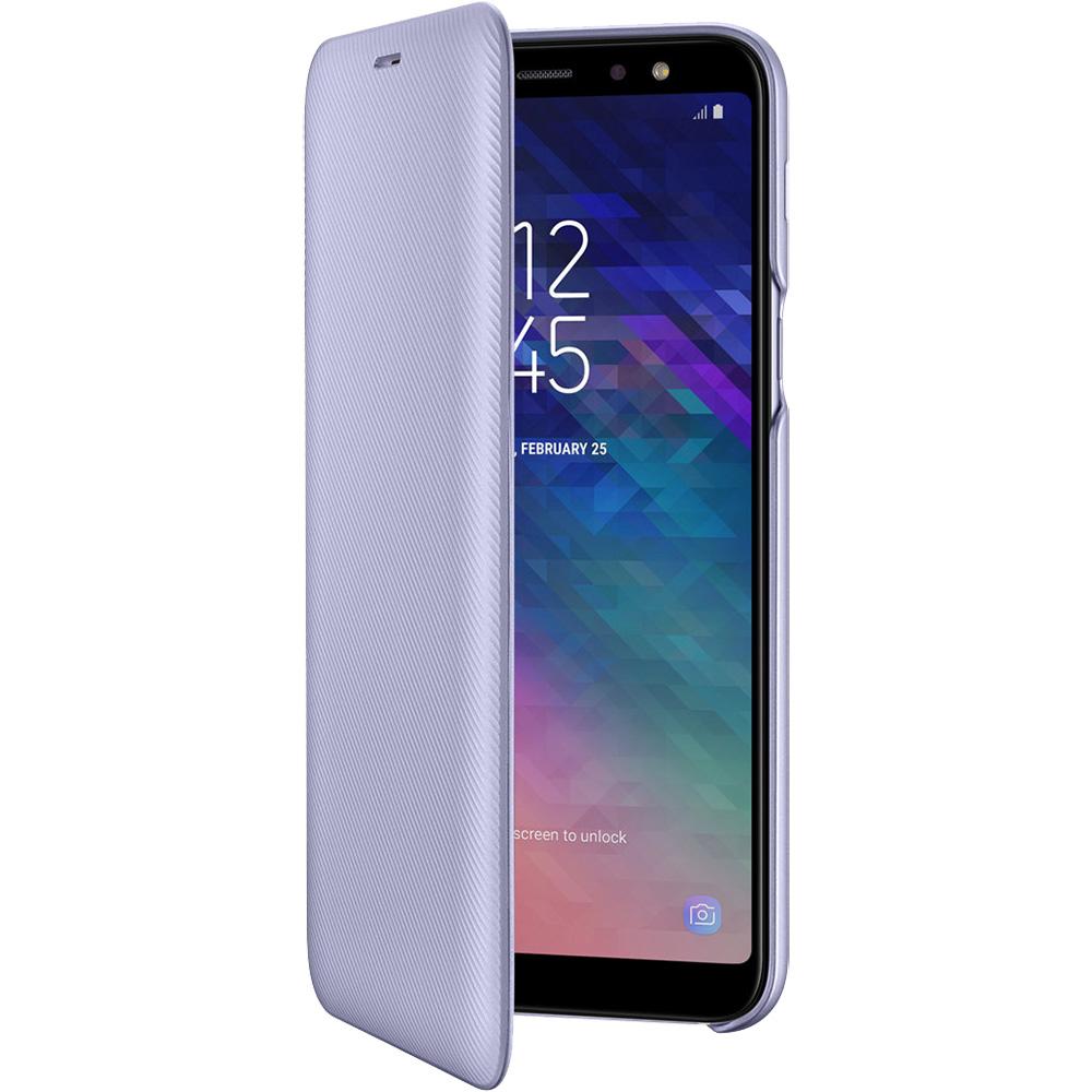 Husa Agenda Flip Wallet Violet SAMSUNG Galaxy A6 Plus (2018)