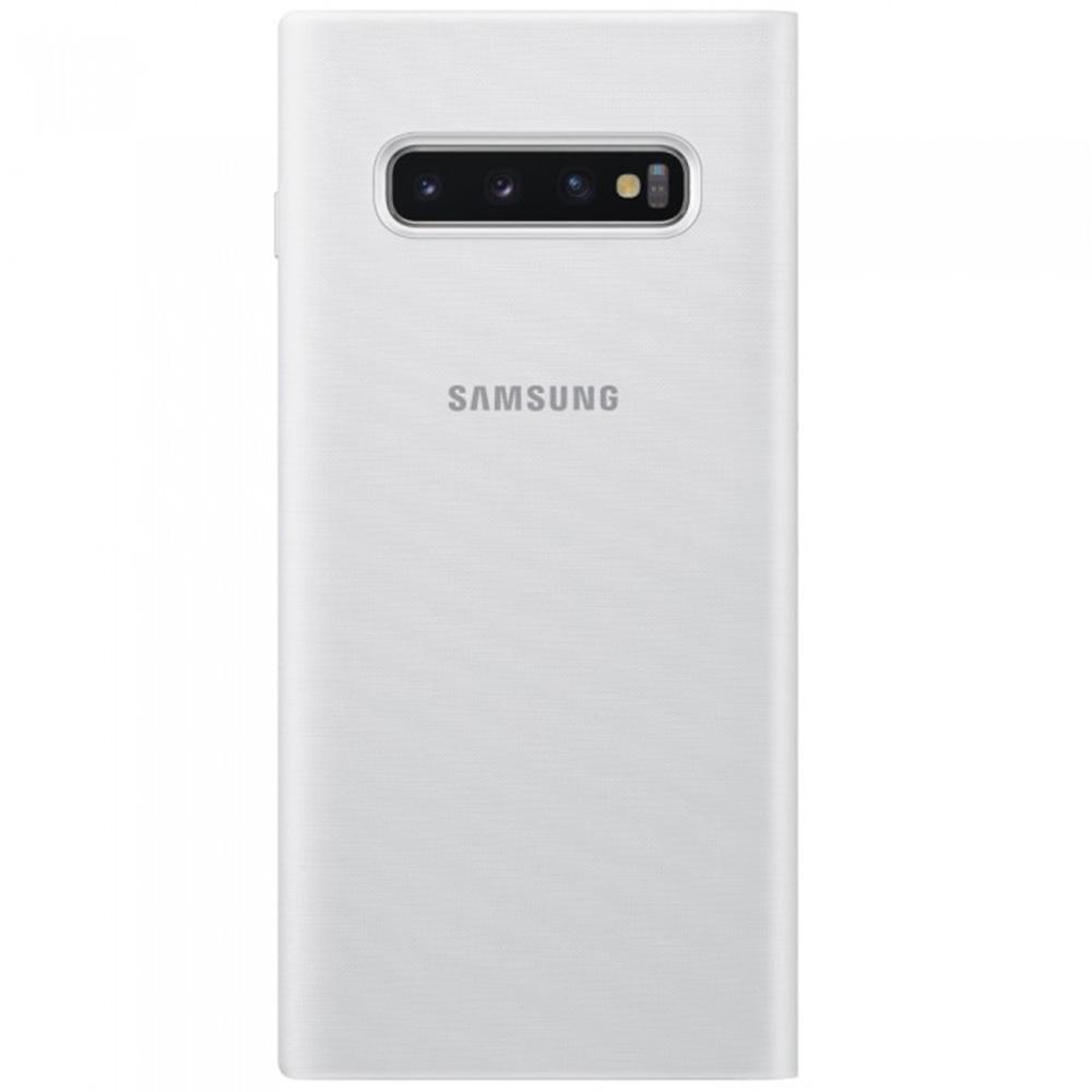 Husa Agenda Led View Alb SAMSUNG Galaxy S10 Plus