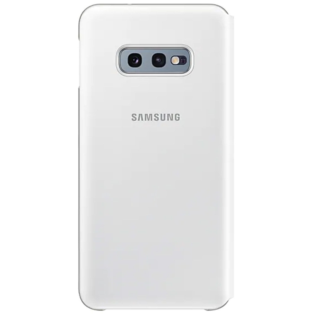 Husa Agenda Led View Alb SAMSUNG Galaxy S10E