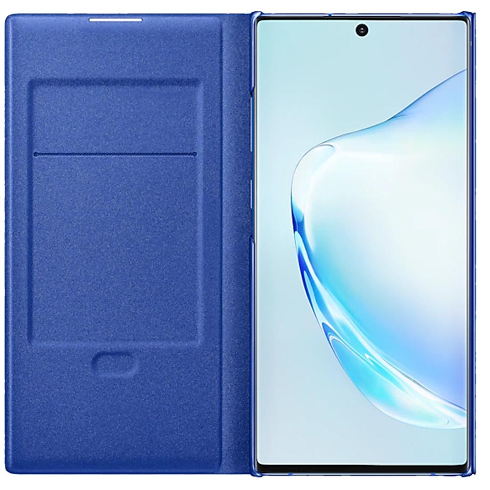 Husa Agenda Led View Albastru SAMSUNG Note 10 Plus