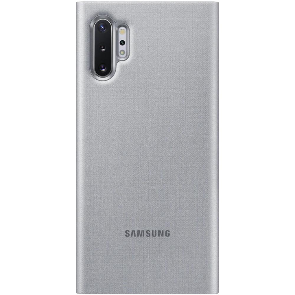 Husa Agenda Led View Argintiu SAMSUNG Note 10 Plus