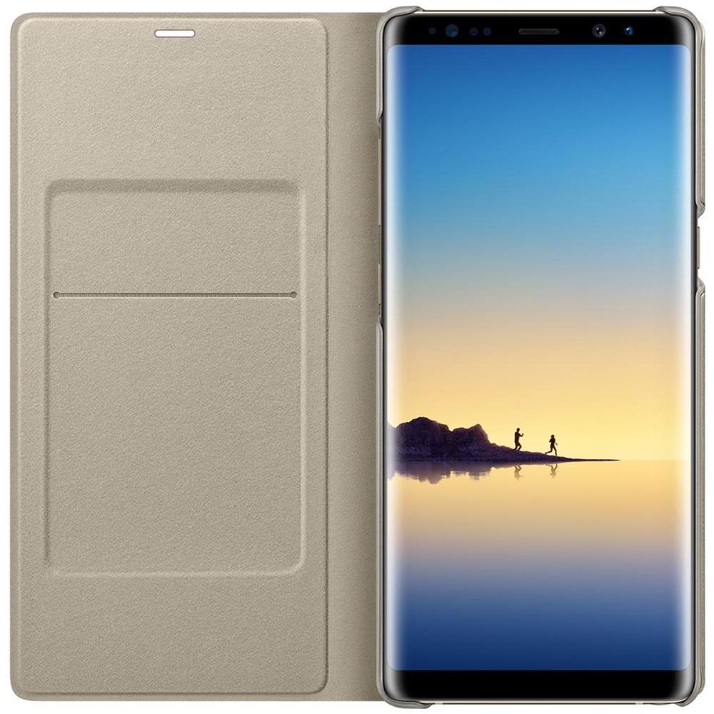 Husa Agenda Led View Auriu SAMSUNG Galaxy Note 8