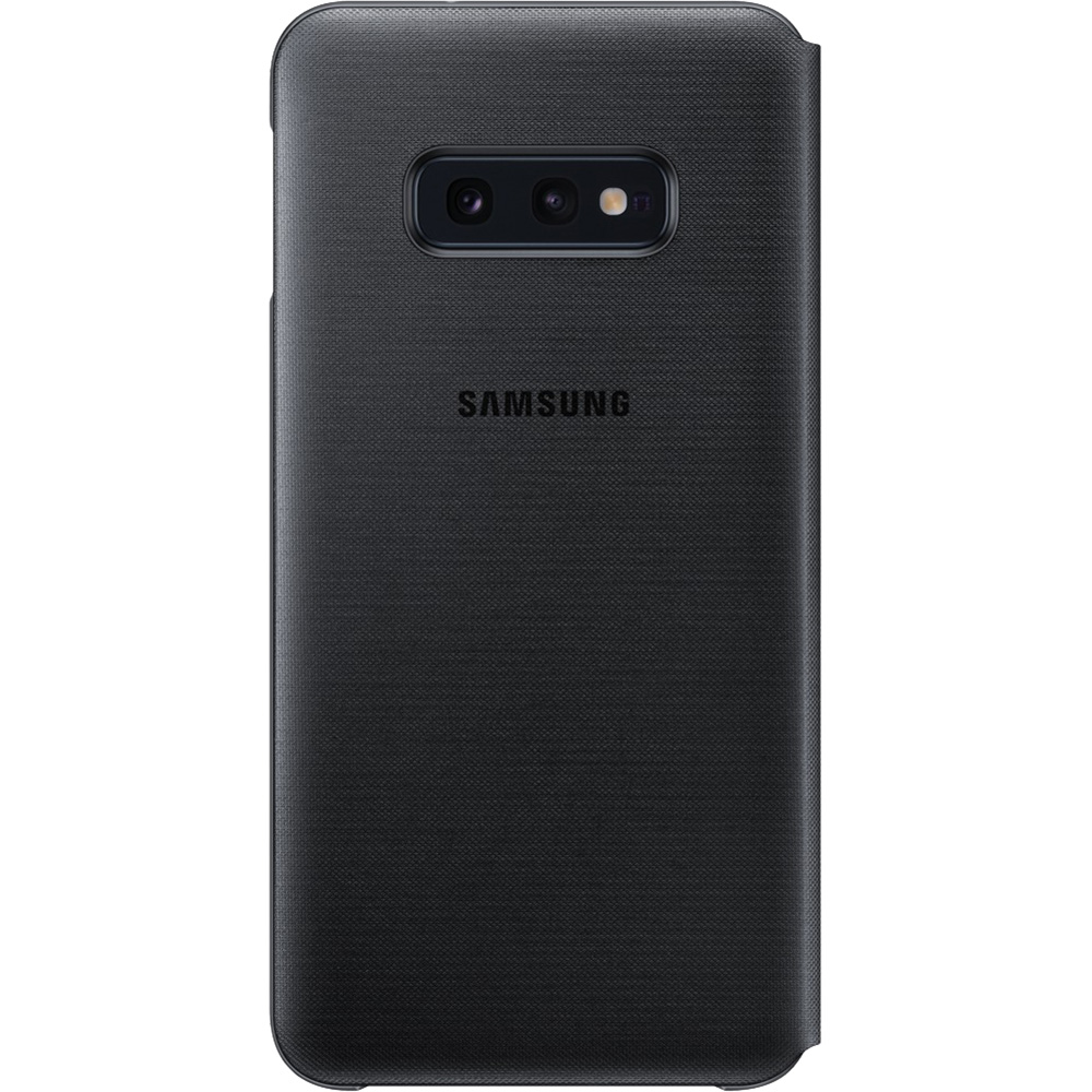 Husa Agenda Led View Cover Negru SAMSUNG Galaxy S10E