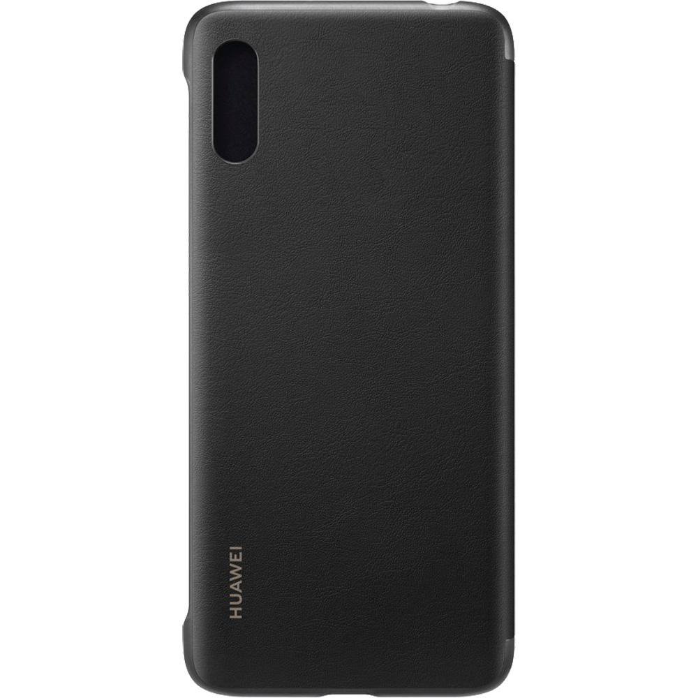 Husa Agenda Negru Huawei Y6 (2019)