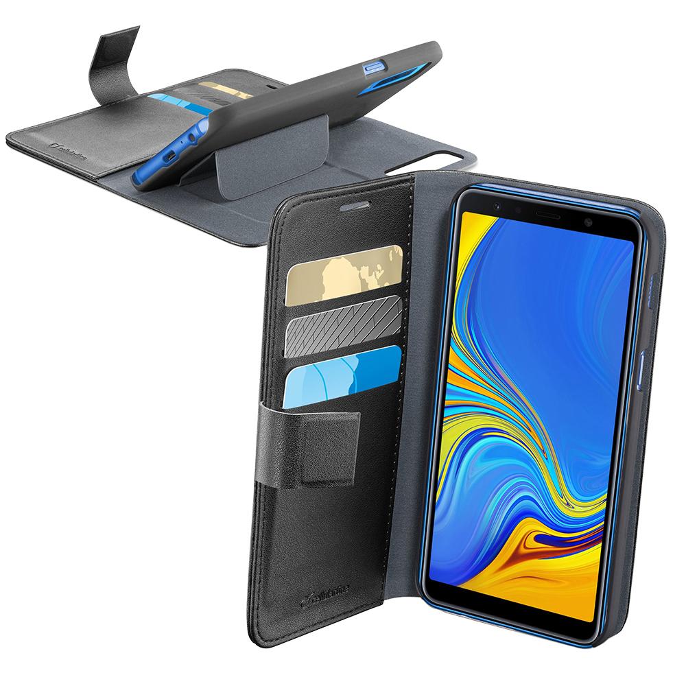 Husa Agenda Negru SAMSUNG Galaxy A7 ( 2018)