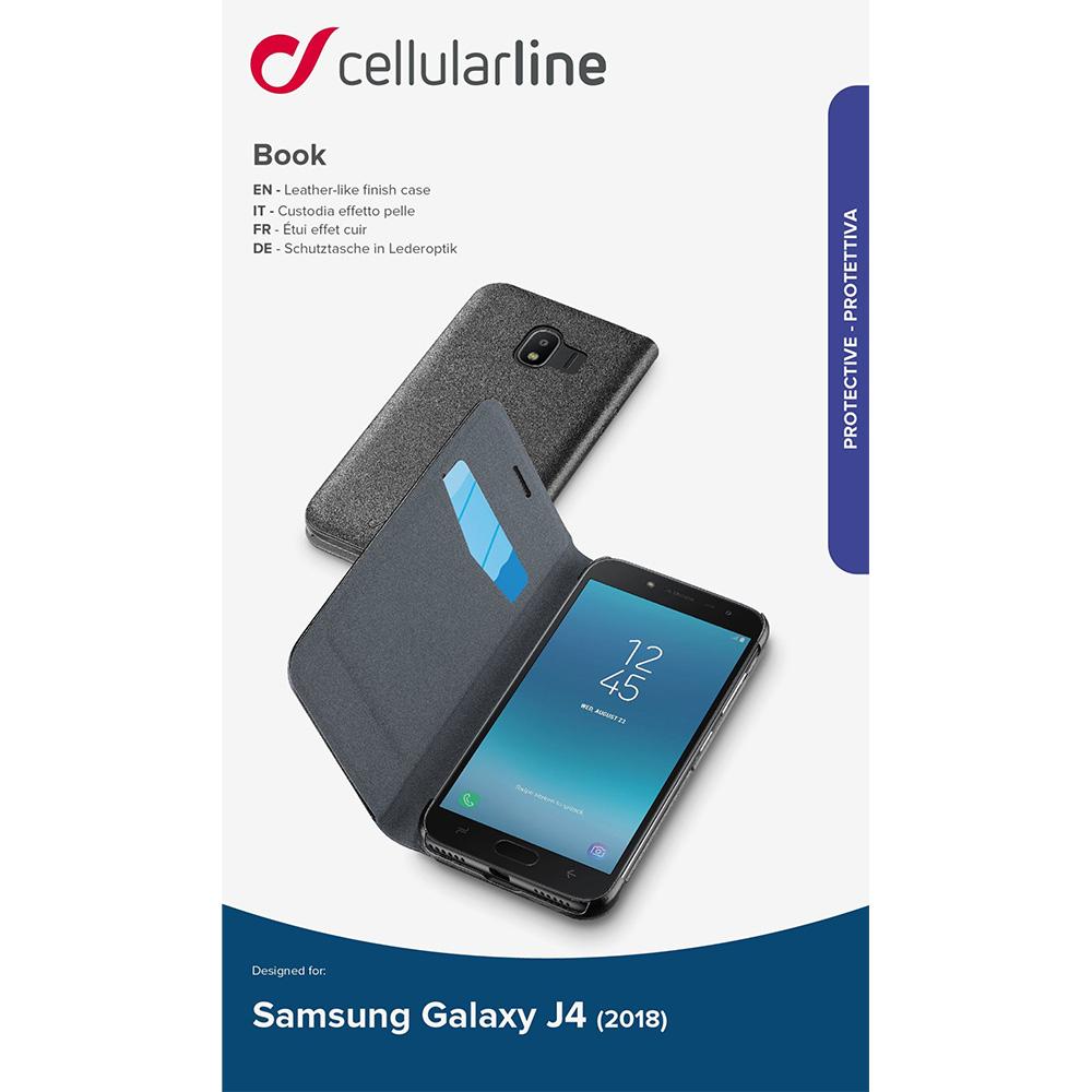 Husa Agenda Negru SAMSUNG Galaxy j4 2018