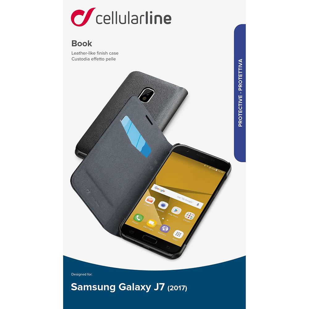 Husa Agenda Negru SAMSUNG Galaxy J7 2017