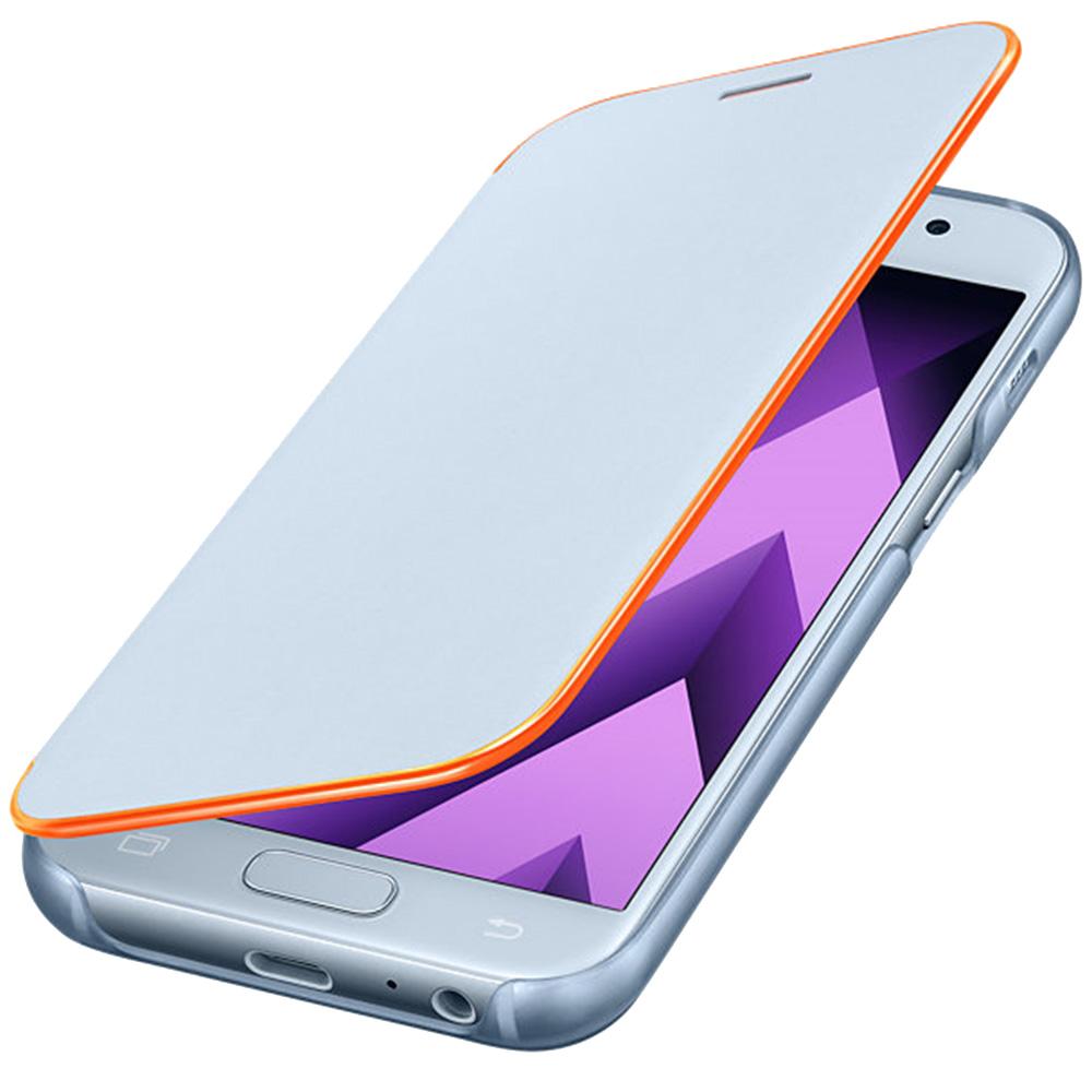 Husa Agenda Neon Albastru SAMSUNG Galaxy A3 2017