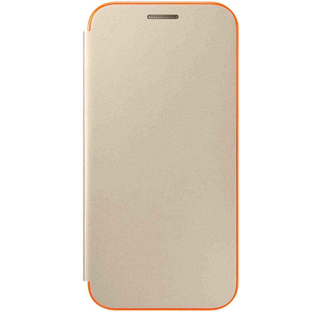 Husa Agenda Neon Auriu SAMSUNG Galaxy A3 2017