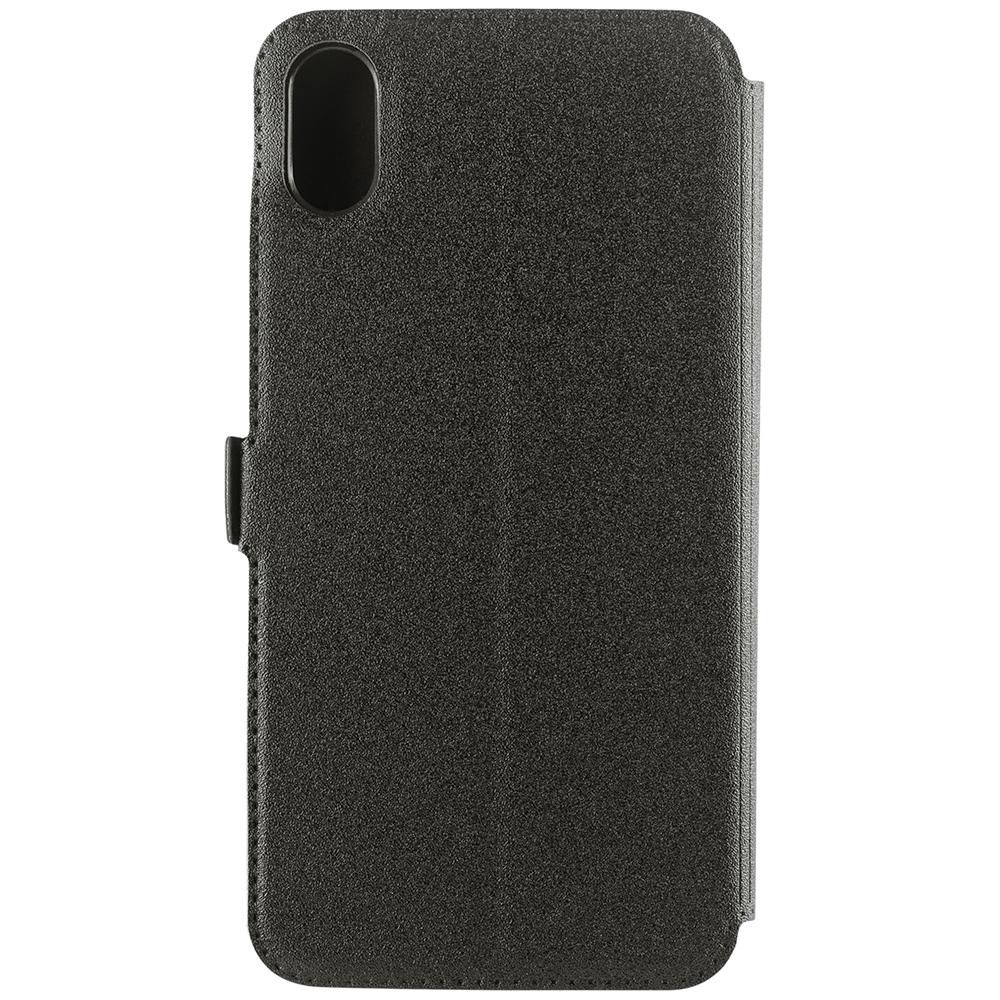 Husa Agenda Pocket Negru APPLE iPhone Xs Max