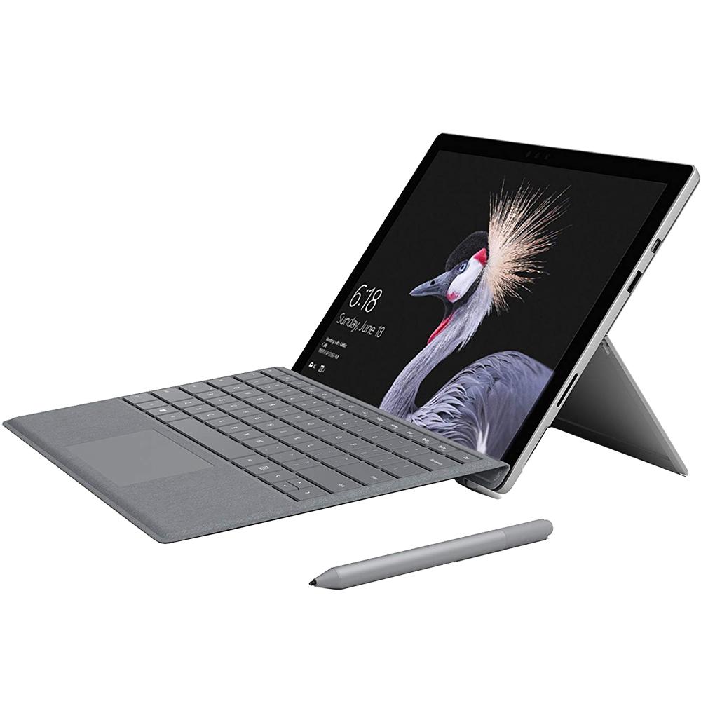 Husa Pro Signature Type Cu Tastatura Pentru Surface Pro Argintiu