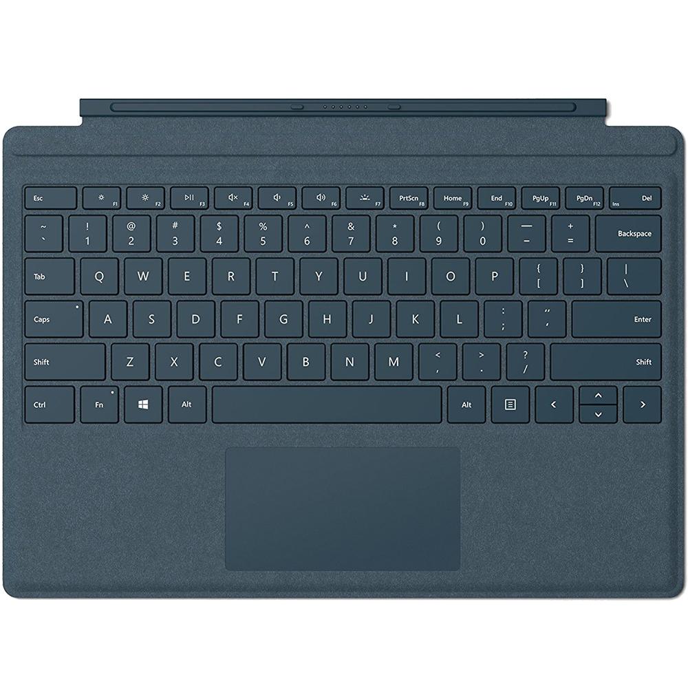Husa Pro Signature Type Cu Tastatura Cobalt Pentru Surface Pro Albastru