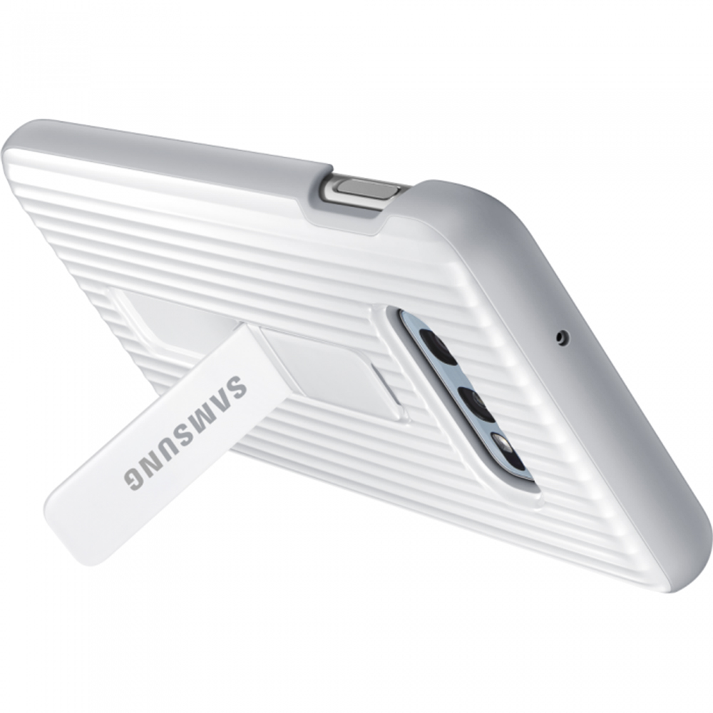 Husa Capac Spate Protective Standing Alb SAMSUNG Galaxy S10E