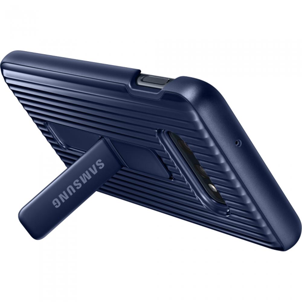 Husa Capac Spate Protective Standing Albastru SAMSUNG Galaxy S10E