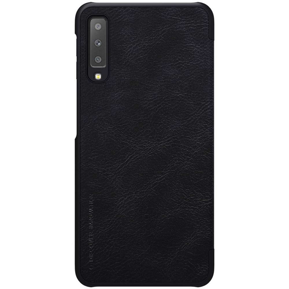 Husa Agenda Qin Piele Negru SAMSUNG Galaxy A7 ( 2018)