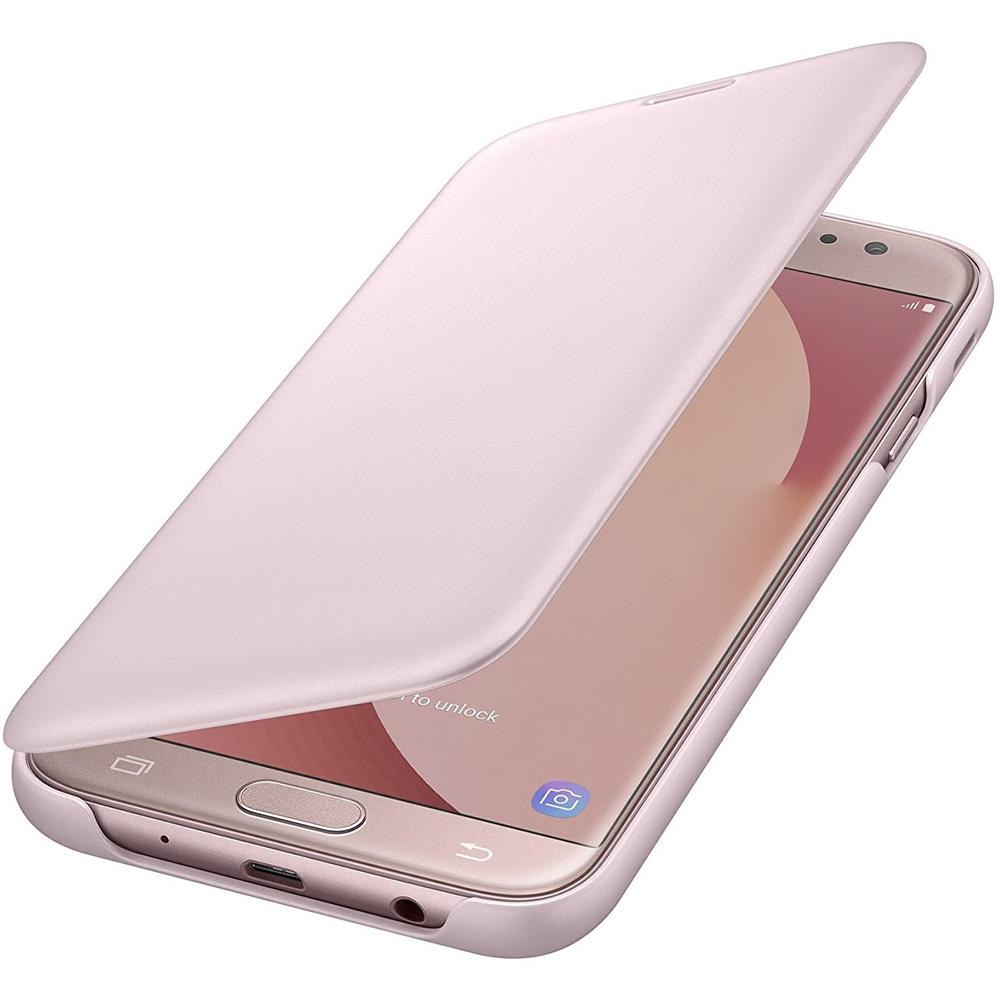 Husa Agenda Roz SAMSUNG Galaxy J7 2017