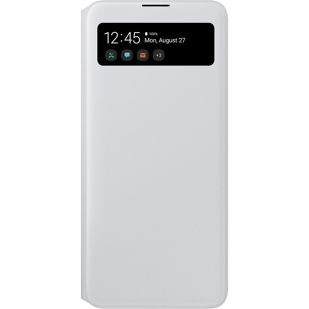 Husa Agenda S View Alb SAMSUNG Galaxy A71
