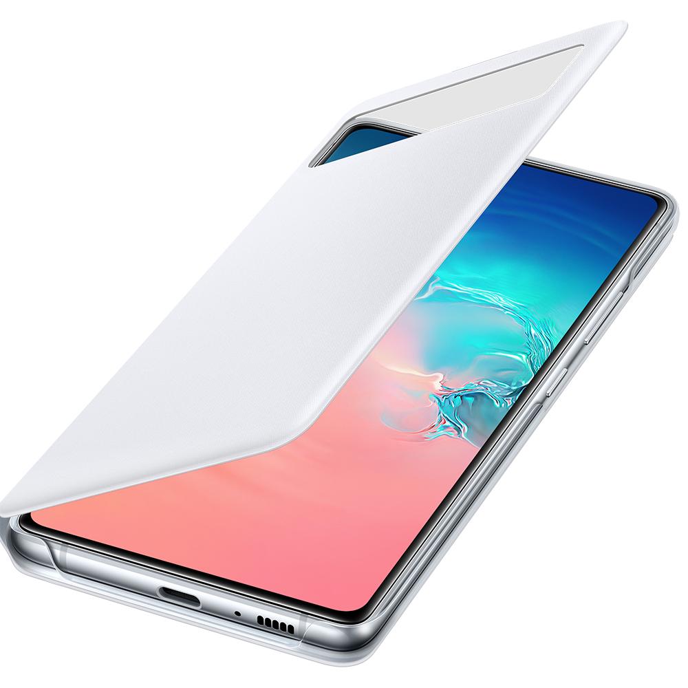 Husa Agenda S View Alb SAMSUNG Galaxy S10 Lite