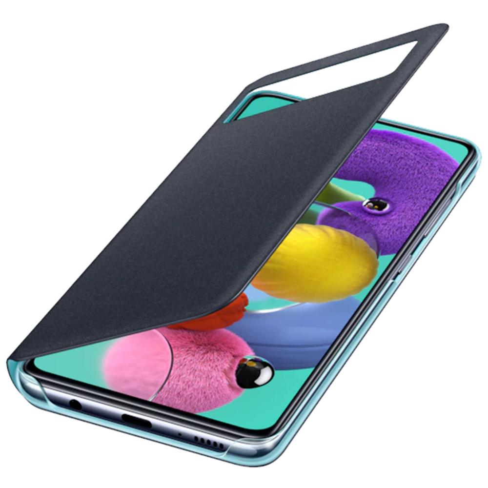 Husa Agenda S View Negru SAMSUNG Galaxy A51