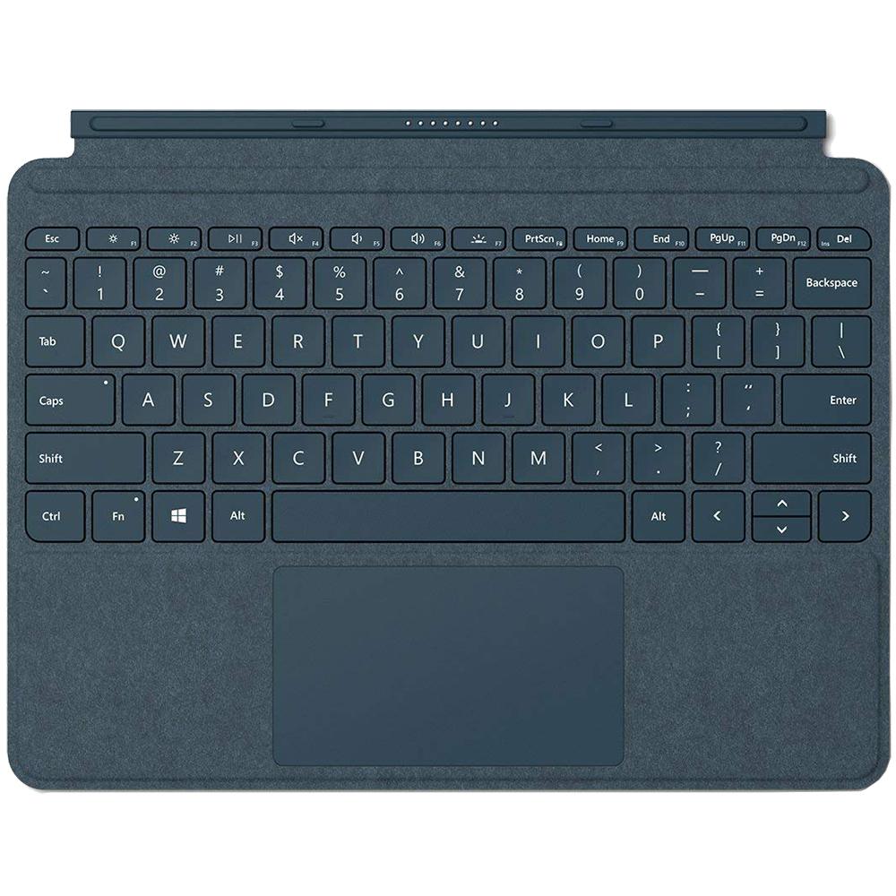 Husa Agenda Type Cover + Tastatura Pentru Surface Go  Albastru