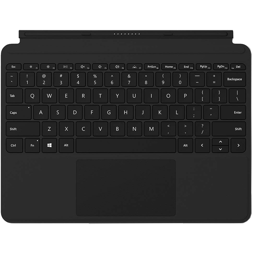 Husa Agenda Type Cover + Tastatura Pentru Surface Go Negru