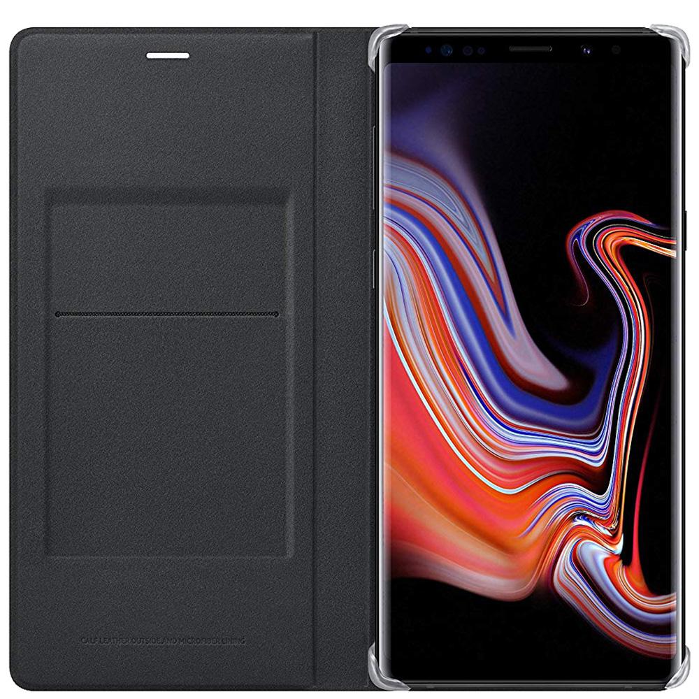 Husa Agenda Piele Negru SAMSUNG Galaxy Note 9