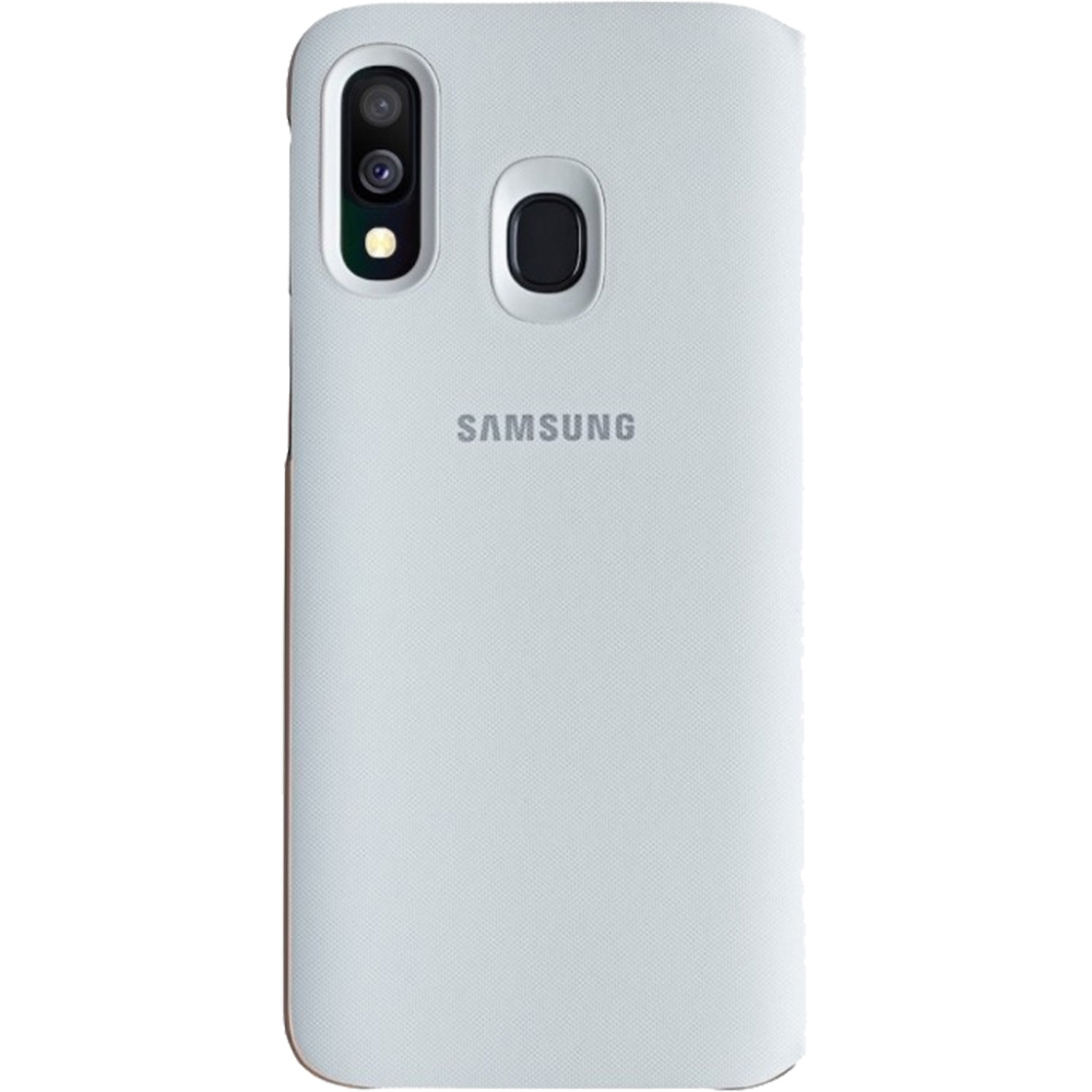 Husa Agenda Wallet Alb SAMSUNG Galaxy A40