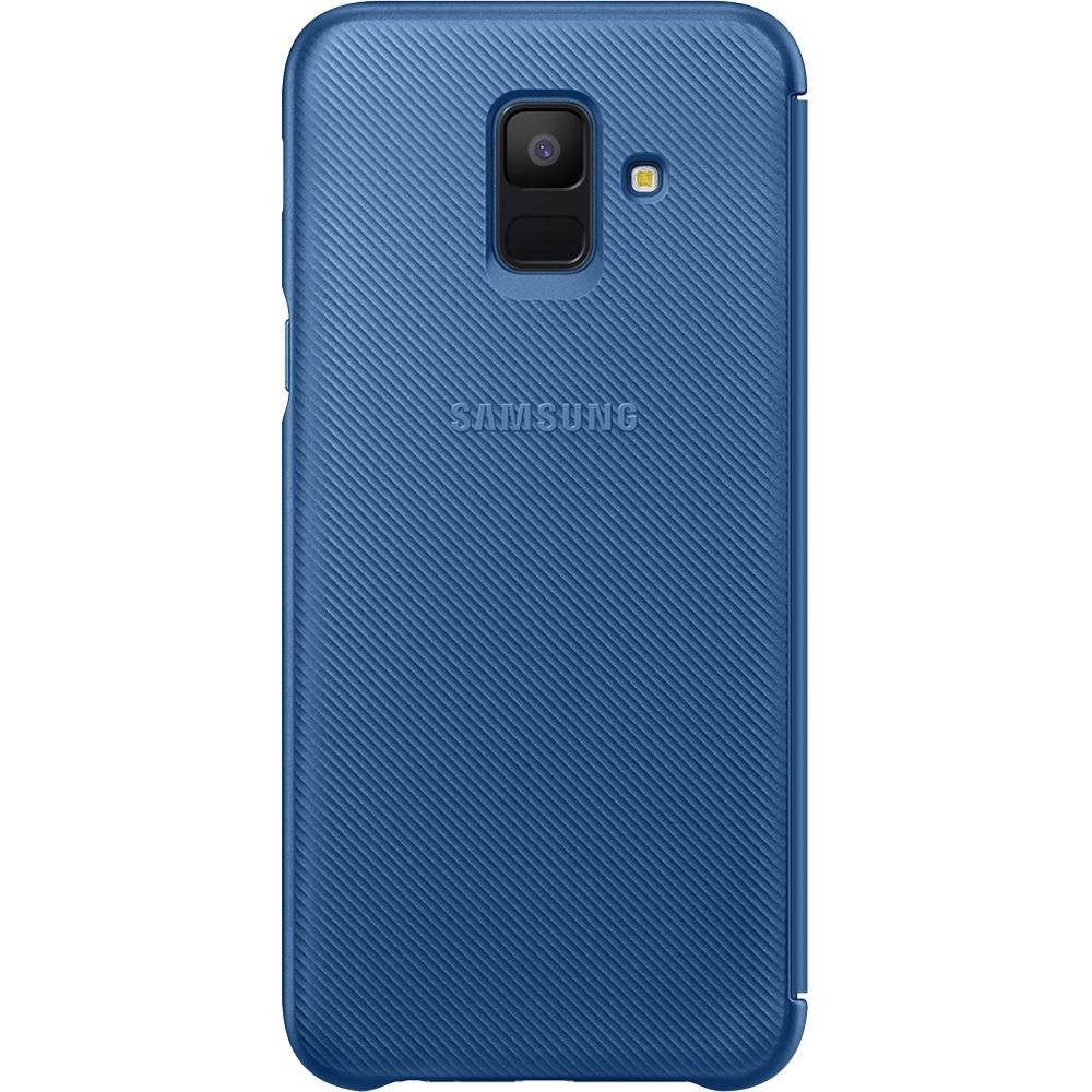 Husa Agenda Wallet Albastru SAMSUNG Galaxy A6 (2018)