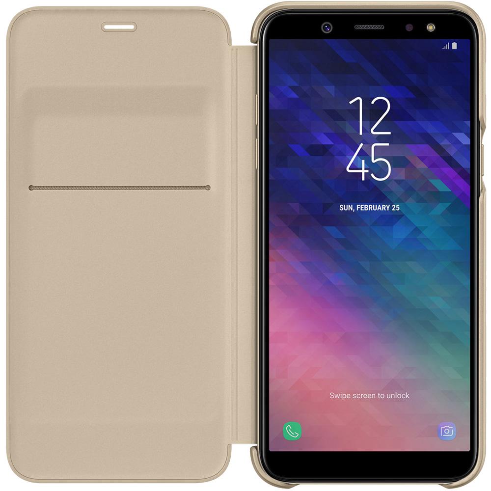 Husa Agenda Wallet Auriu SAMSUNG Galaxy A6 (2018)