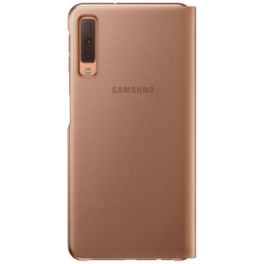 Husa Agenda Wallet Auriu SAMSUNG Galaxy A7 ( 2018)