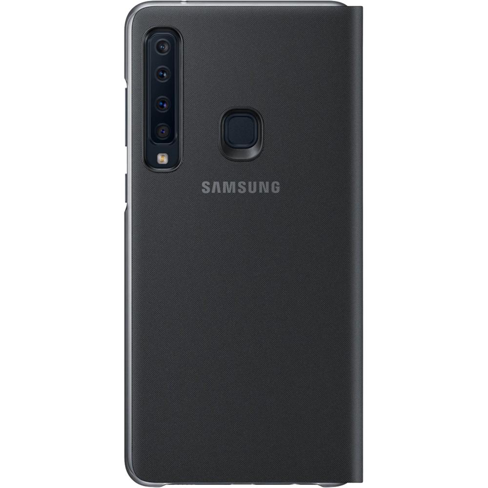 Husa Agenda Wallet Negru SAMSUNG Galaxy A9 2018
