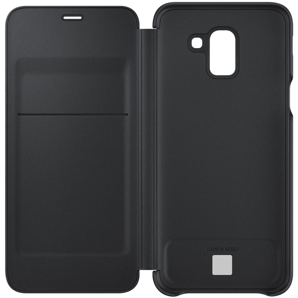 Husa Agenda Wallet Negru SAMSUNG Galaxy J6 2018