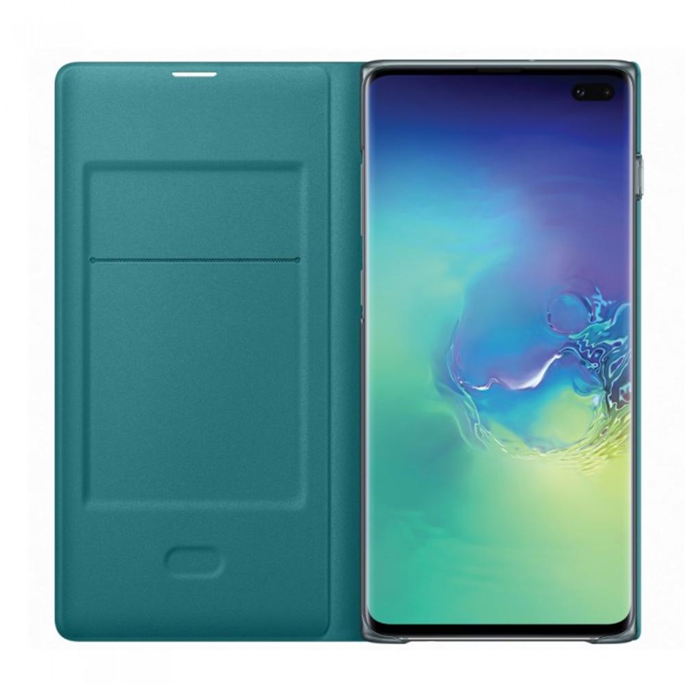 Husa Agenda Wallet Verde SAMSUNG Galaxy S10 Plus
