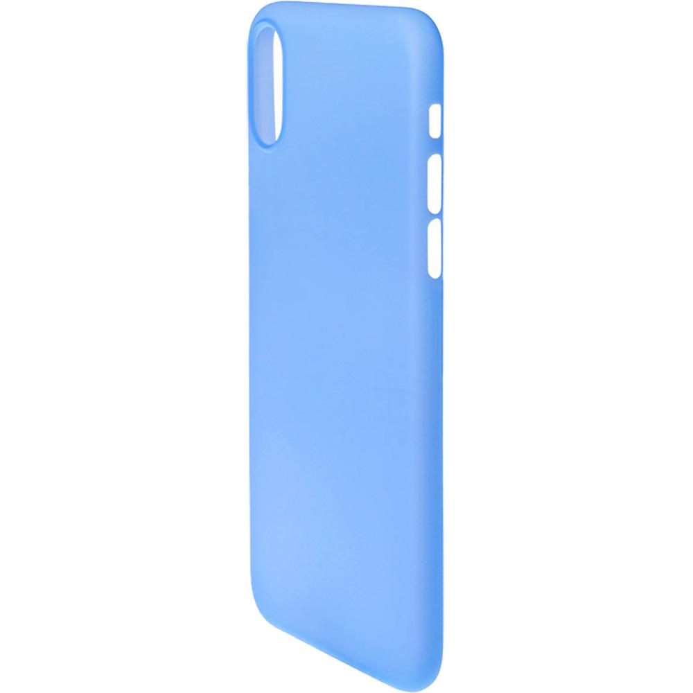 Husa Capac Spate 0.5 mm Ultra Slim Albastru APPLE iPhone X, iPhone Xs