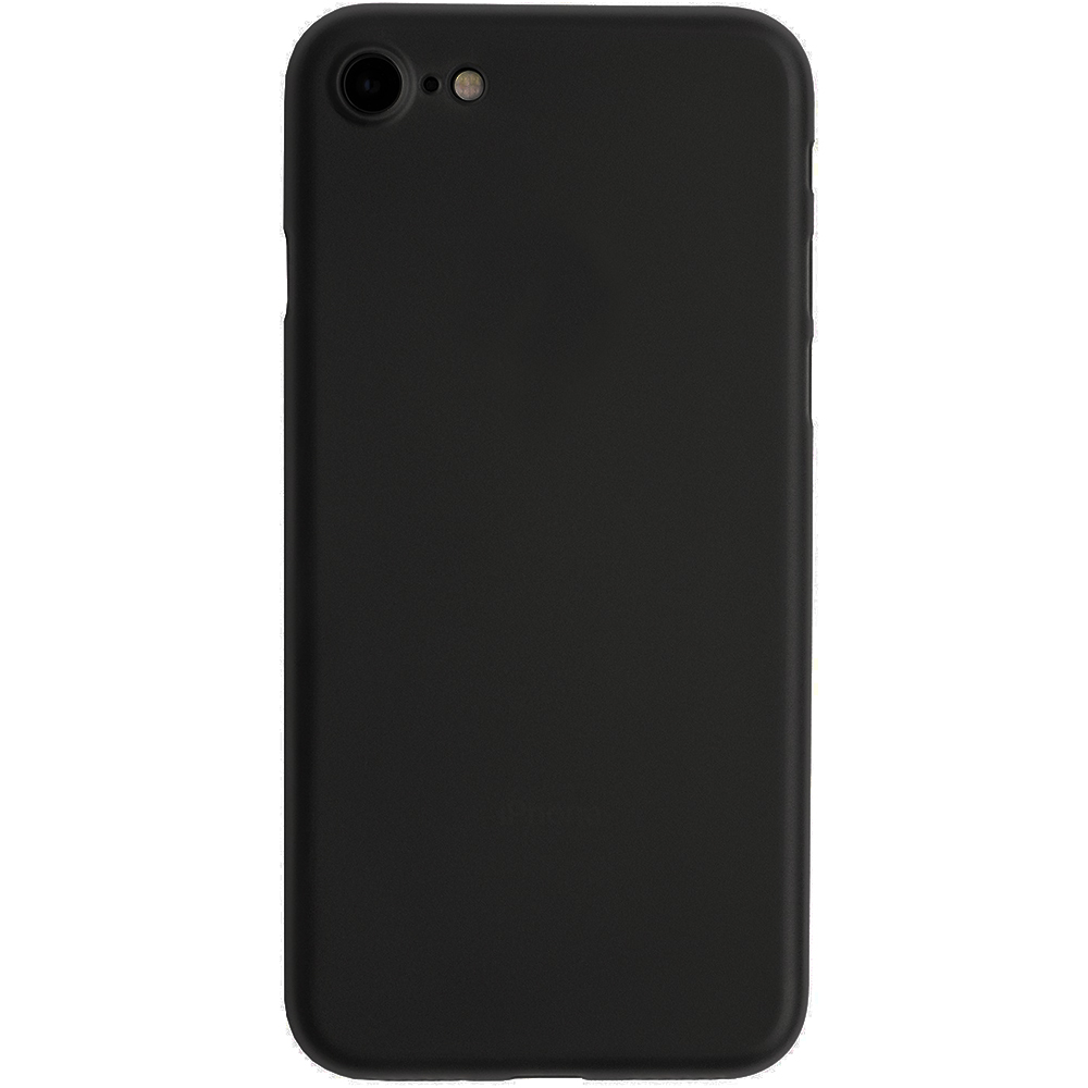 Husa Capac Spate Slim Negru Apple iPhone 7, iPhone 8, iPhone SE 2020