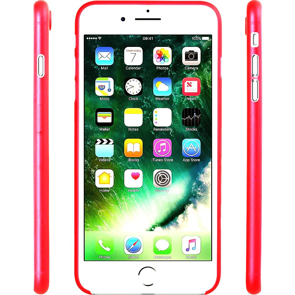 Husa Capac Spate Slim Rosu Apple iPhone 7 Plus, iPhone 8 Plus