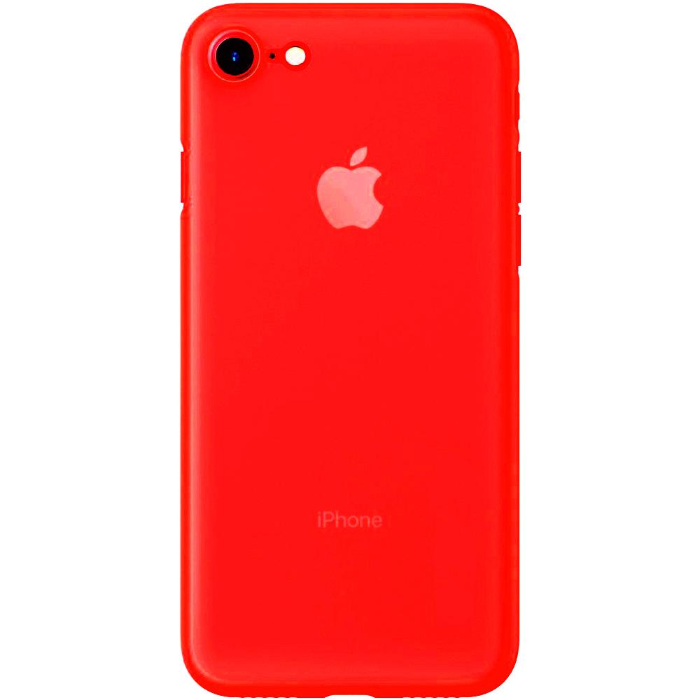 Husa Capac Spate Slim Rosu Apple iPhone 7, iPhone 8, iPhone SE 2020