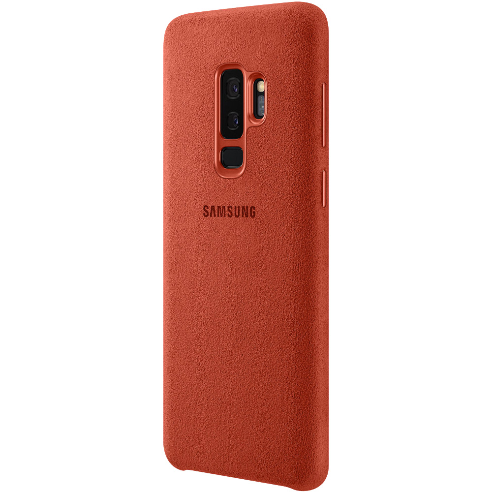 Husa Capac Spate Alcantara Rosu SAMSUNG Galaxy S9 Plus