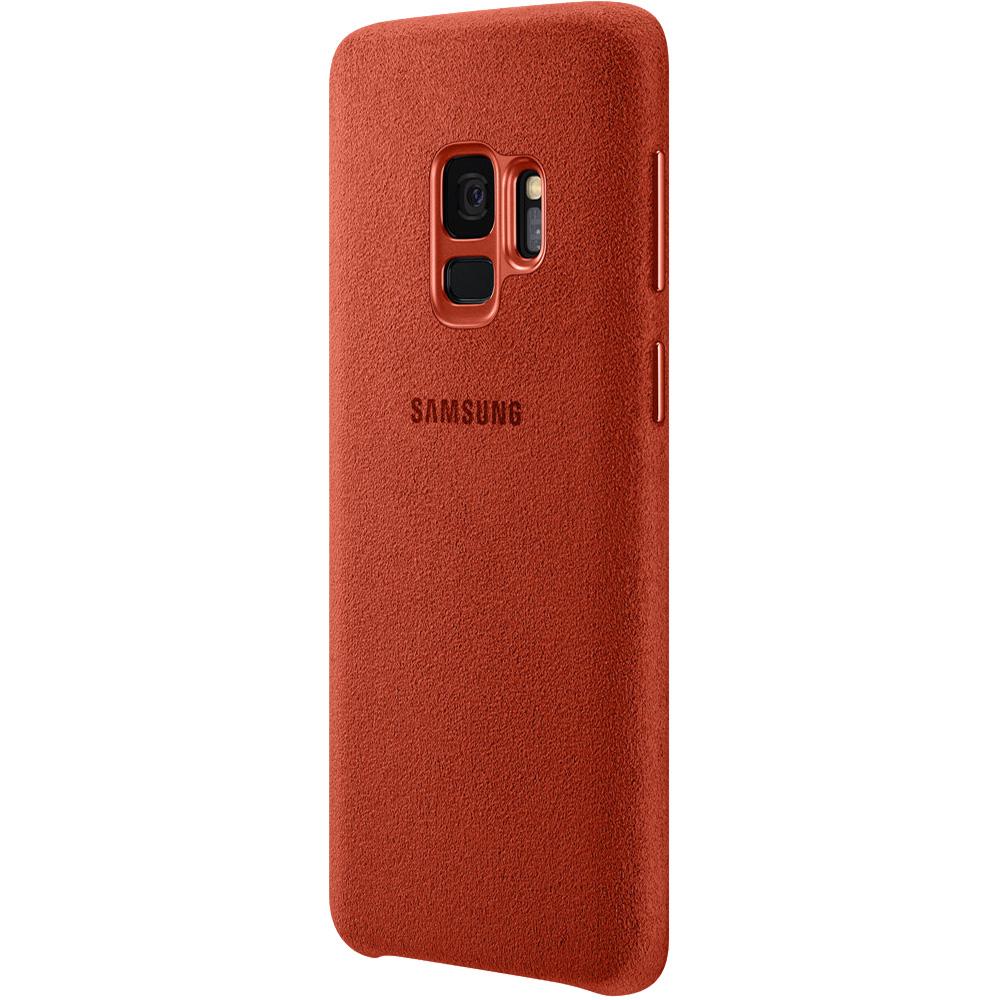 Husa Capac Spate Alcantara Rosu SAMSUNG Galaxy S9