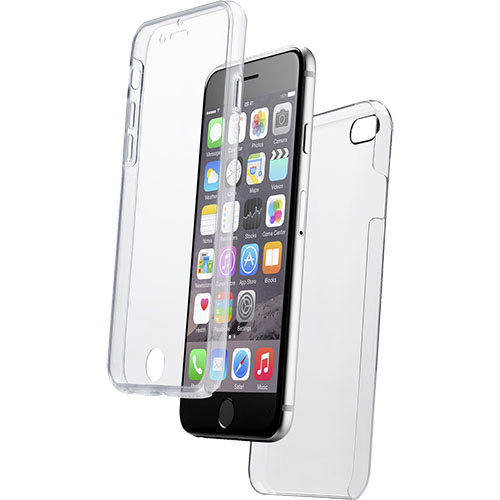 Husa Capac Spate 360 Transparent APPLE iPhone 6, iPhone 6S